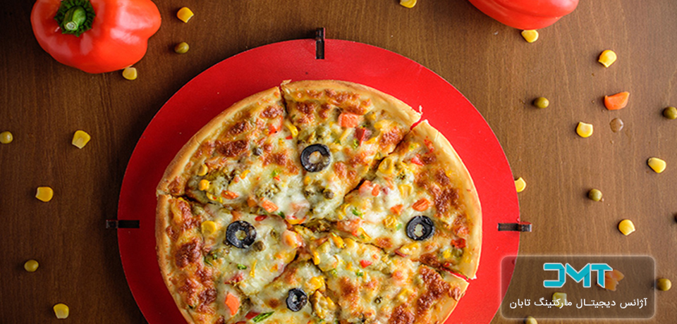 عکاسی صنعتی رستوران پیتزا پیتزا